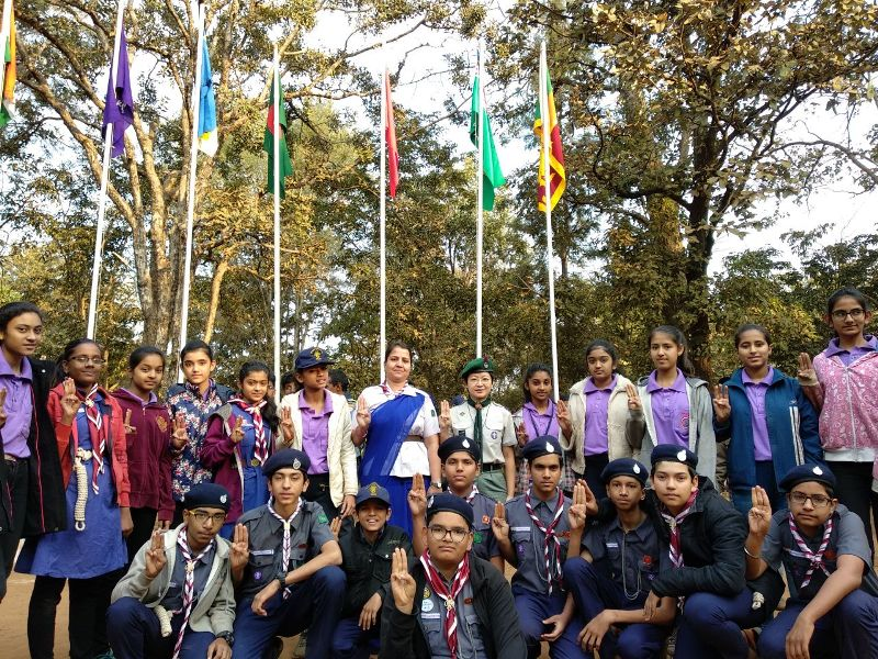 International Adventure Camp at Pachmarhi 2