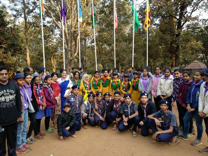 International Adventure Camp at Pachmarhi1