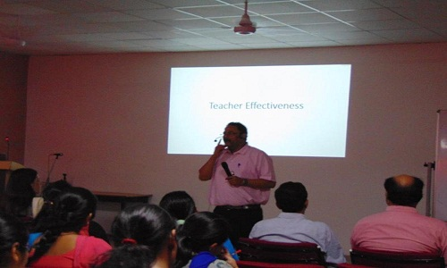 Session on 'Teacher Effectiveness' 1