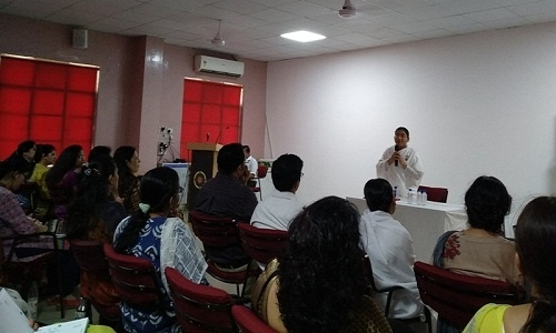 Session on 'Tongue Management' by Brahmakumari Neela Didi 2