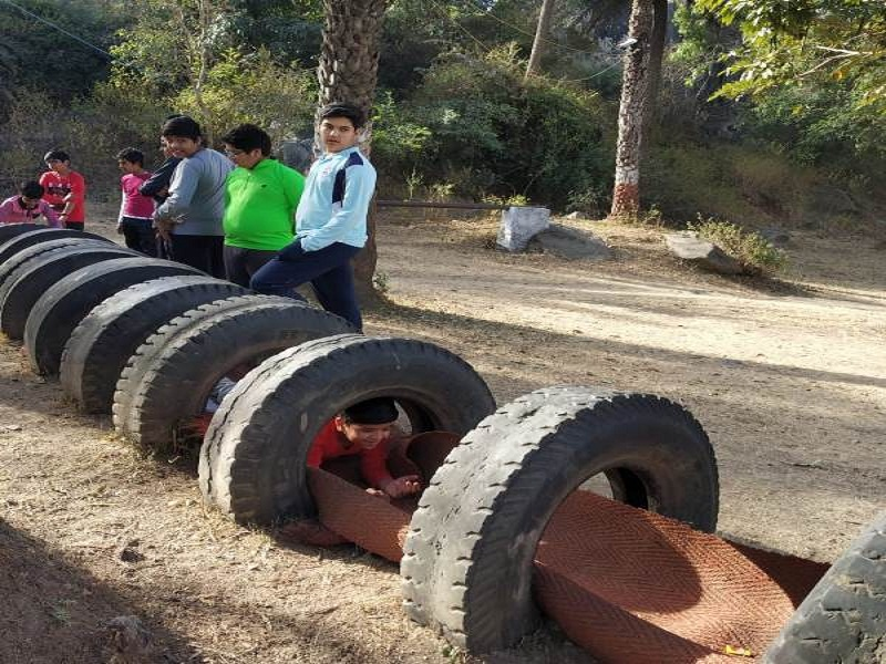 Adventure camp at Mount Abu For Class VII to IX Students1