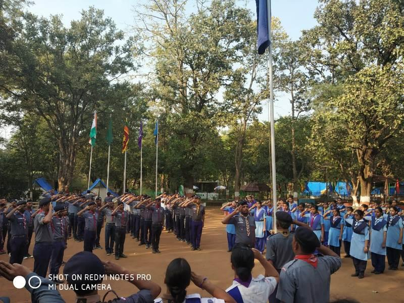 Camp at Pachmarhi