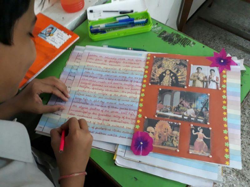 8A Scrapbook Making