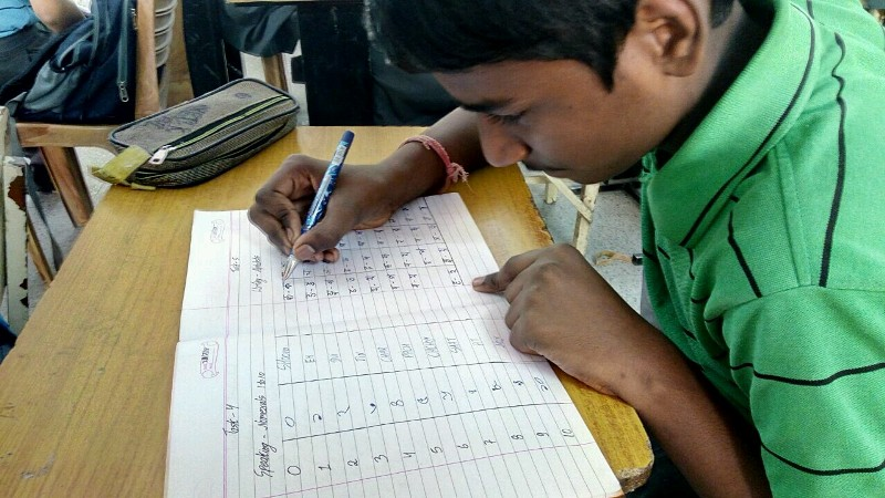 class 8 writing skill alphabets in bengali.