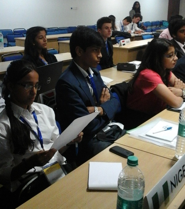 Participation in AIMUN 1